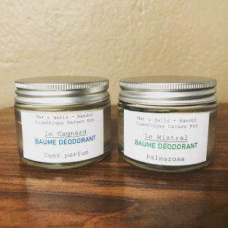 Baumes déodorants